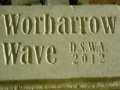 'Worbarrow Wave' - carved sign