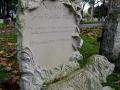 Dog headstone.