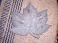 Underside of Maple leaf. Leaves can be ordered from me and made to order - please contact me for details.