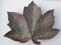 Red leaf. Leaves can be ordered from me and made to order - please contact me for details.