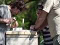 Stone carving lessons with Jonathan Sells.