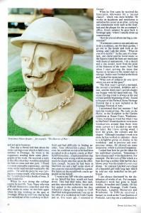 Jonathan Sells in Dorset Life, June 1992