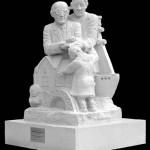 Frank Foley sculpture, by Jonathan Sells