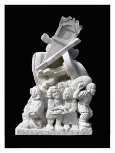 Wareham sculpture by Jonathan Sells