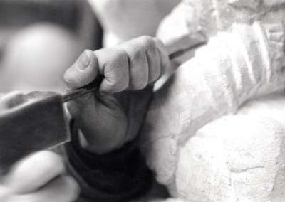 Jonathan Sells - Purbeck stone carver