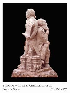 Tregonwell-Creeke sculpture by Jonathan Sells