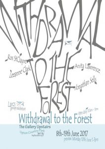 Exhibition at Upton Country Park, 10th-19th June 2017. Withdrawal to the Forest.
