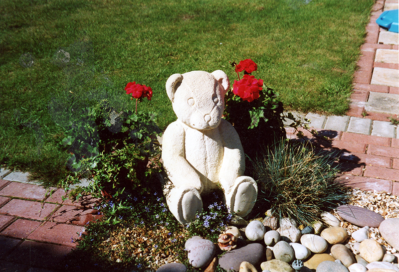 Teddy Bear Headstone