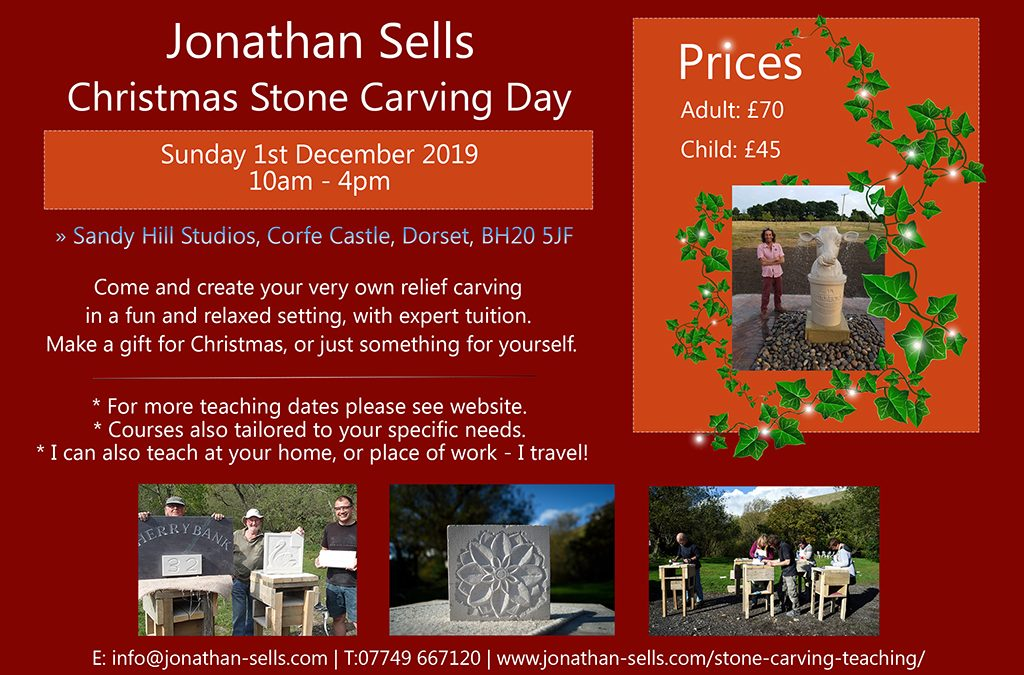 Stone Carving Day – 1st December 2019
