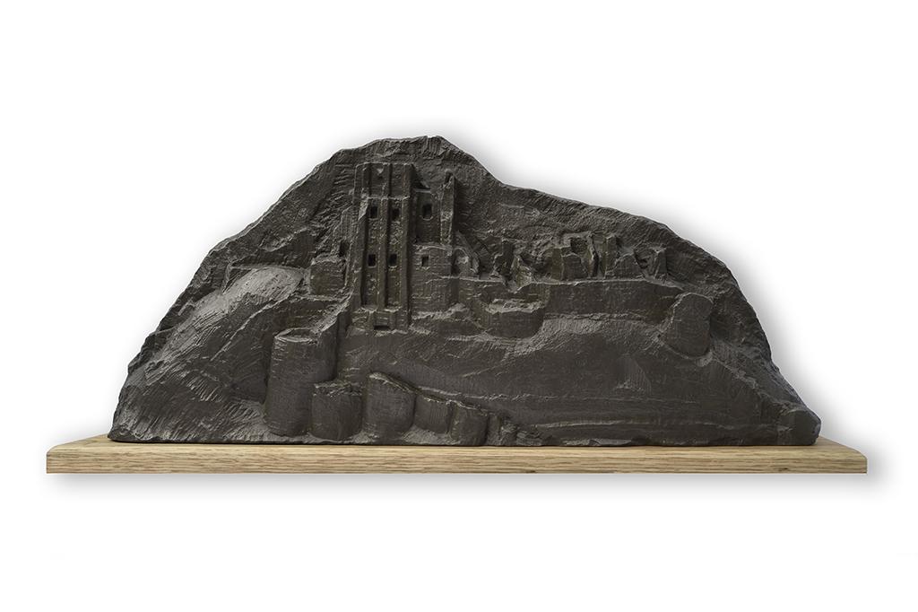 3. Corfe Castle sculpture by Jonathan Sells.