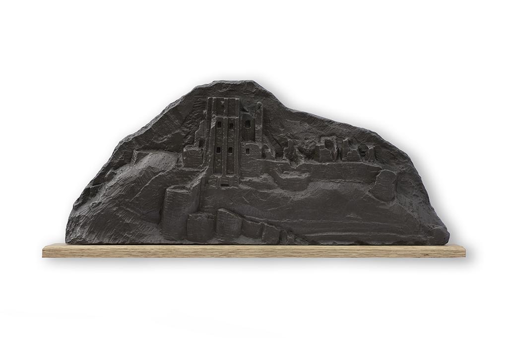 4. Corfe Castle sculpture by Jonathan Sells.