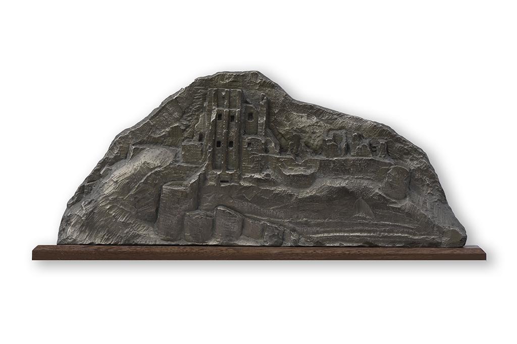 2. Corfe Castle sculpture by Jonathan Sells.