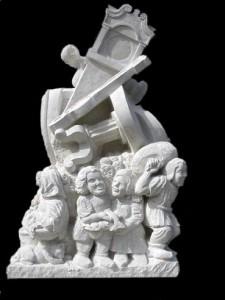 Wareham Market Sculpture by Jonathan Sells
